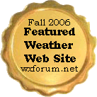 Featured Weather Website for Fall 2006